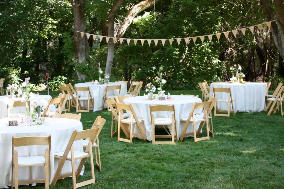 Backyard Wedding Decoration Ideas Backyard Wedding Reception Decorations Ideas For Centerpieces For