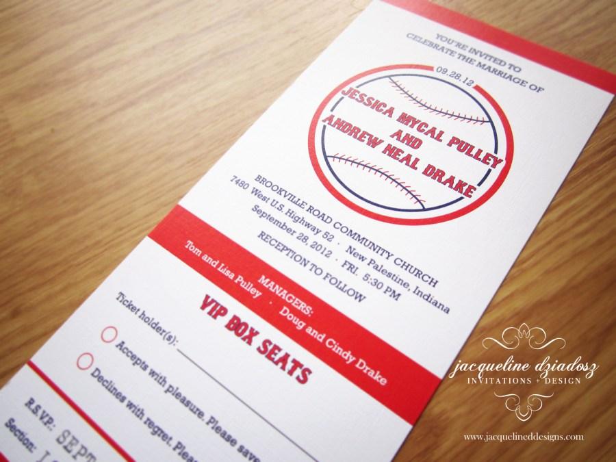 Baseball Wedding Invitations Elegant 1 Design Baseball Wedding Invitations Wedding Ideas Real