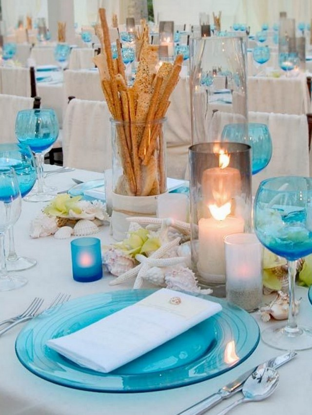 Beach Wedding Reception Decorations Beach Wedding Reception Decor Knotsvilla Wedding Ideas Canada