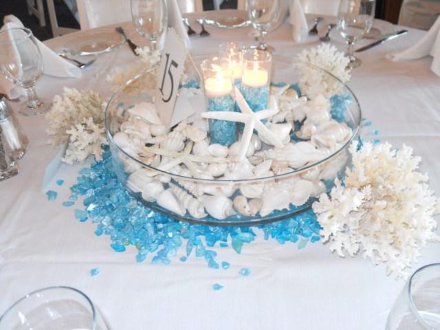 Beach Wedding Table Decorations Beach Wedding Table Decorations Gestablishment Home Ideas
