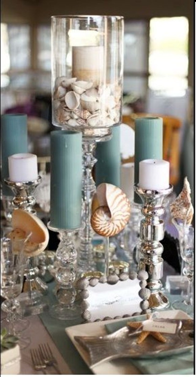 Beach Wedding Table Decorations Wedding Decorations Archaicawful Beach Table Decor Centerpieces