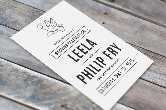 Beautiful Wedding Invitations Use Icons To Create Simplistic Yet Beautiful Wedding Invitations