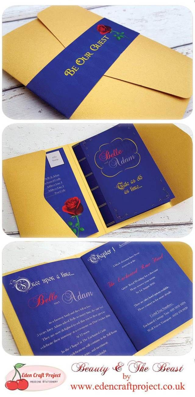 Beauty And The Beast Wedding Invitations 18 Beauty And The Beast Wedding Invitations Wedding Invitation