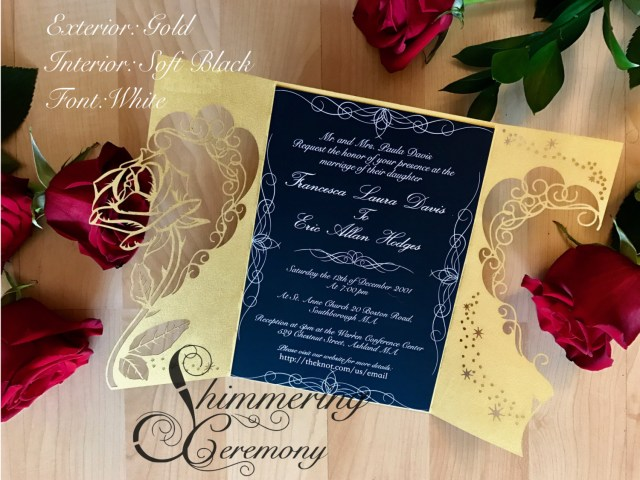 Beauty And The Beast Wedding Invitations Beauty And The Beast Wedding Invitations Beauty And The Beast
