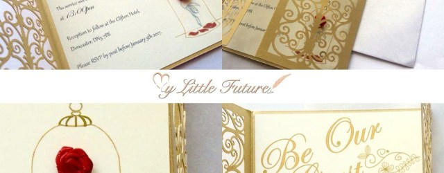 Beauty And The Beast Wedding Invitations Invitaciones Para Tus Quinces Que Te Convertirn En Una Princesa