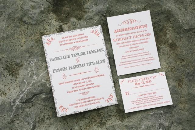 Bilingual Wedding Invitations Bilingual Wedding Invitations Bella Figura