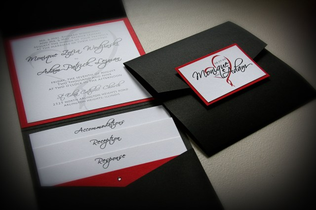 Black And Red Wedding Invitations How To Select The Red And Black Wedding Invitations Ideas