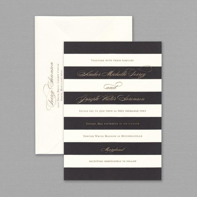 Black And White Striped Wedding Invitations Black And White Striped Wedding Invitations Black And White Striped