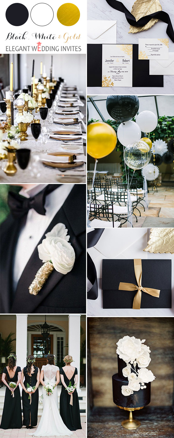 Black And White Wedding Decor 40 Most Inspiring Classic Black And White Wedding Ideas