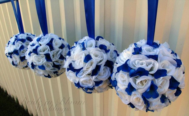 Blue And White Wedding Decor Ideas Royal Blue White Wedding Decorations Awesome Rhwerewpcom Blue Royal