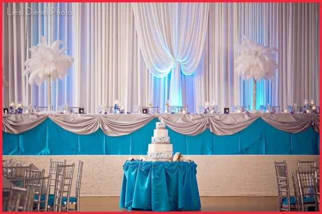 Blue And White Wedding Decor Ideas Turquoise And White Wedding Theme 5 Turquoise Wedding Decoration