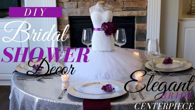Bride Groom Wedding Table Decorations Diy Bride Centerpiece Bridal Shower Decorations Bridal Shower