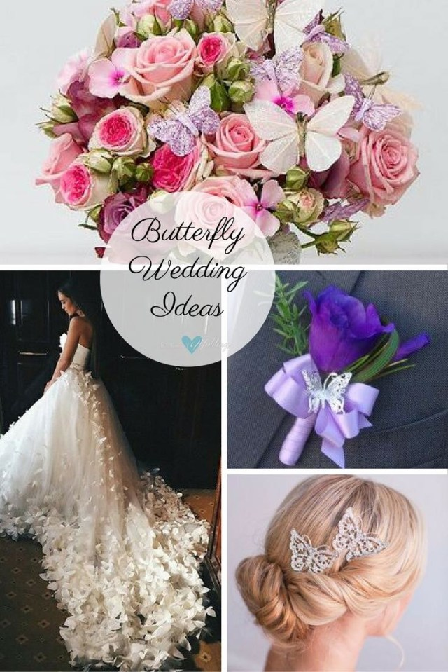 Butterfly Wedding Decorations For Tables Butterfly Wedding Ideas That Will Make Your Heart Skip A Beat