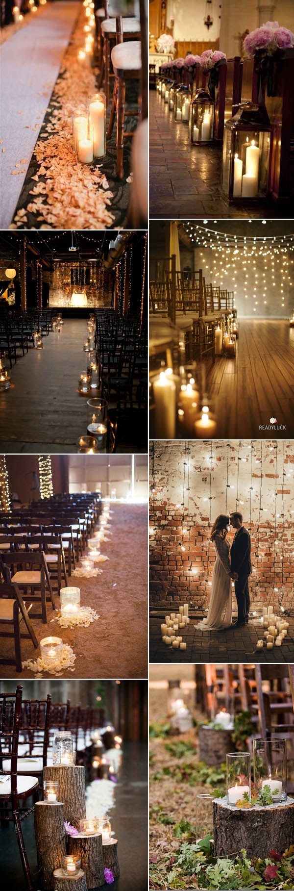 Candle Decorations For Wedding Ceremony 50 Fancy Candlelight Ideas To Add Romance To Your Weddings