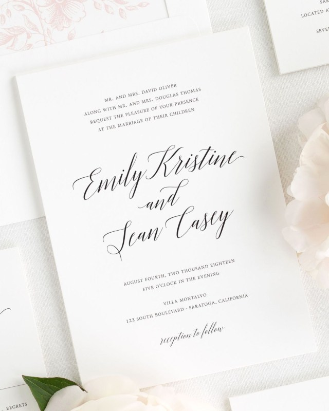 Catholic Wedding Invitations Formal Wedding Invitation Wording Luxury Formal Catholic Wedding