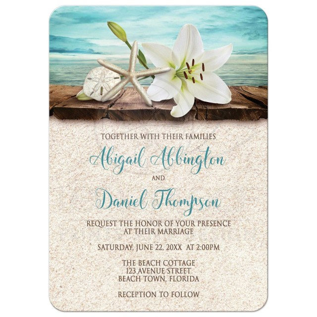 Cheap Beach Wedding Invitations Wedding Ideas Beach Wedding Invitations Grandioseparlor
