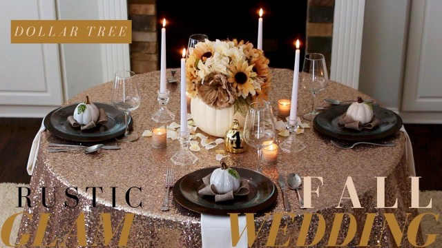 Cheap Rustic Wedding Decor Diy Fall Wedding Decoration Ideas Rustic Wedding Decor Dollar