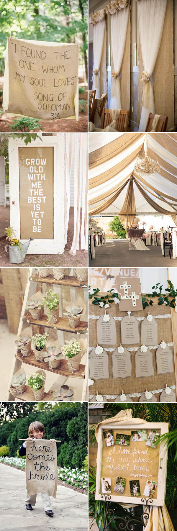 Cheap Rustic Wedding Decor The Most Complete Burlap Rustic Wedding Ideas For Your Inspiration
