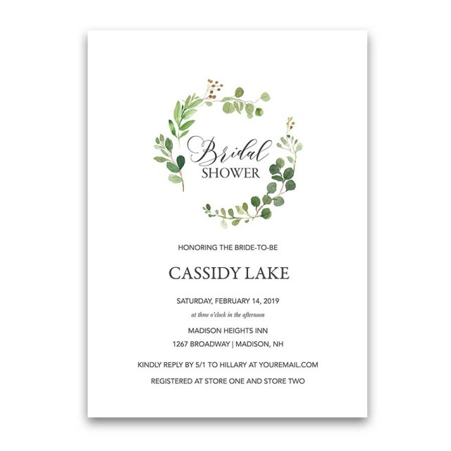 Cheap Wedding Shower Invitations Bridal Shower Invitations Custom Designed And Inexpensive