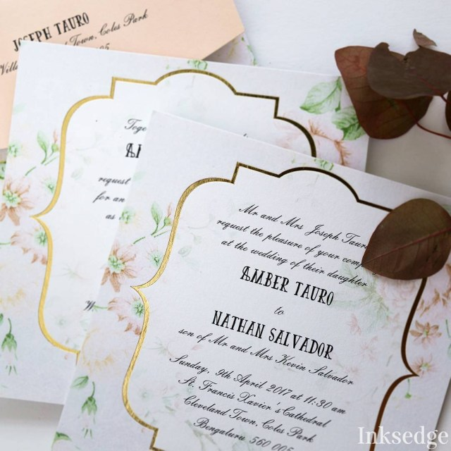 Christian Wedding Invitations Indian Wedding Invitation Wording In English What To Say Guide