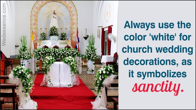 Church Wedding Decorations Ideas Simple Church Wedding Decoration Ideas