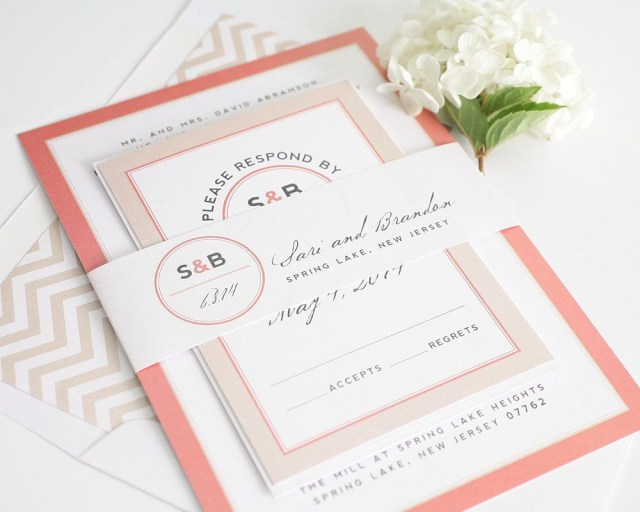 Coral Wedding Invitations Top 10 Most Loved Wedding Invitations From Shine Wedding Invitations