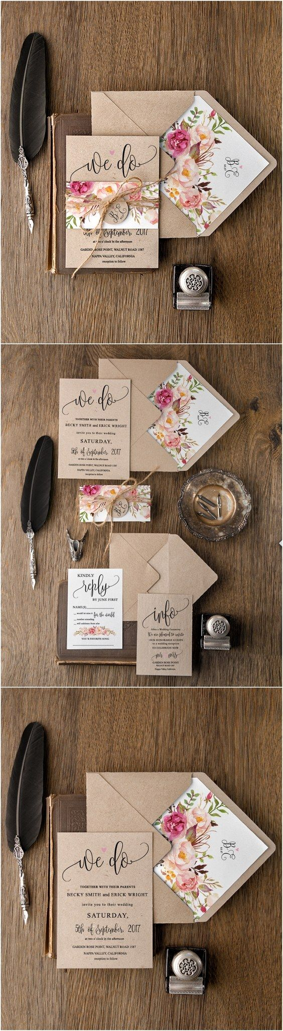 Country Wedding Invitations Cheap 30 Our Absolutely Favorite Rustic Wedding Invitations Deer Pearl