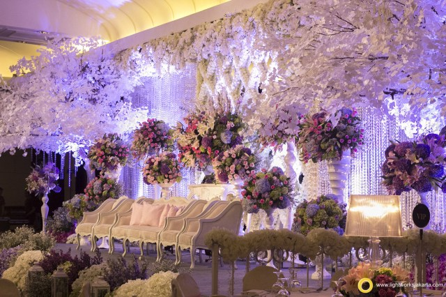 Decoration Wedding Dharma And Canas Wedding Garden Of Love Lightworks