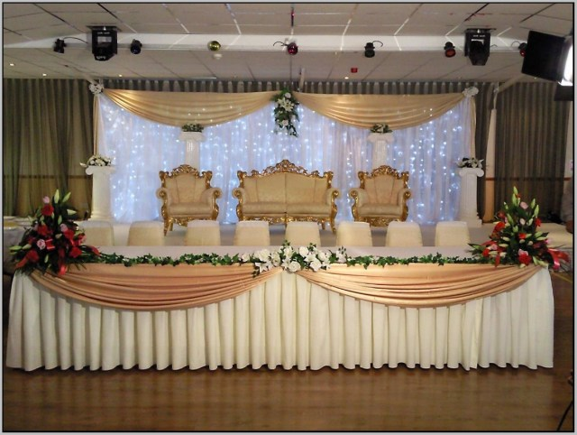 Decorations For A Wedding Wonderfull Modern Best Inspired High Table Decorations For A Wedding