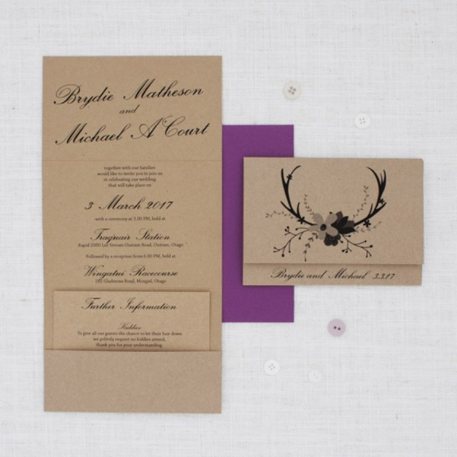 Deer Wedding Invitations Deer Wedding Invitations Best Of Krafty Deer Wedding Invitation Be