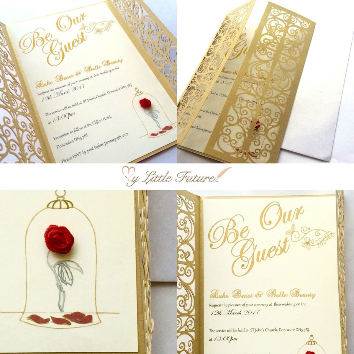 Disney Themed Wedding Invitations Invitaciones Para Tus Quinces Que Te Convertirn En Una Princesa