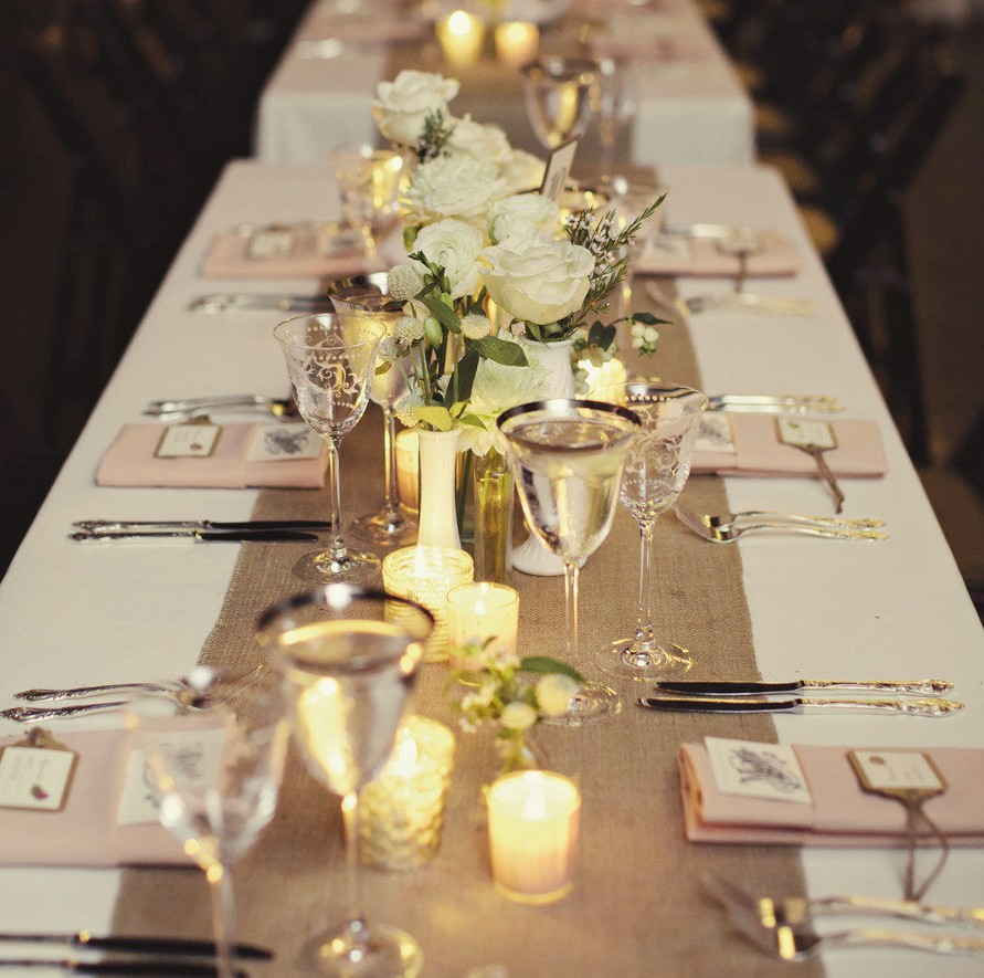 Elegant Wedding Decor Wedding Decoration Comely Design Ideas Using Rectangular Brown Table