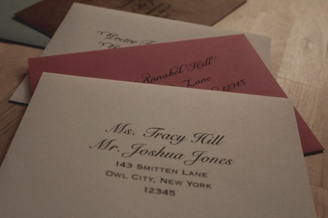 Etiquette For Addressing Wedding Invitations Latest Etiquette For Addressing Wedding Invitations How To Address