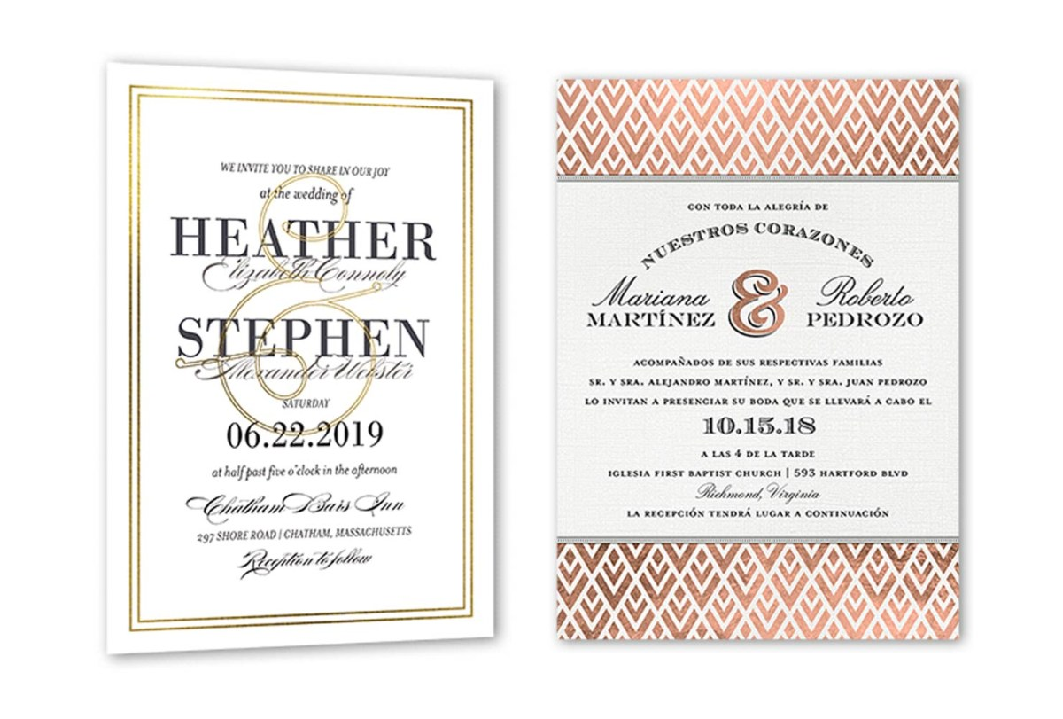 32+ Inspiration Picture of Example Of Wedding Invitation
