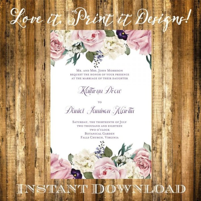 Free Invitation Templates Download