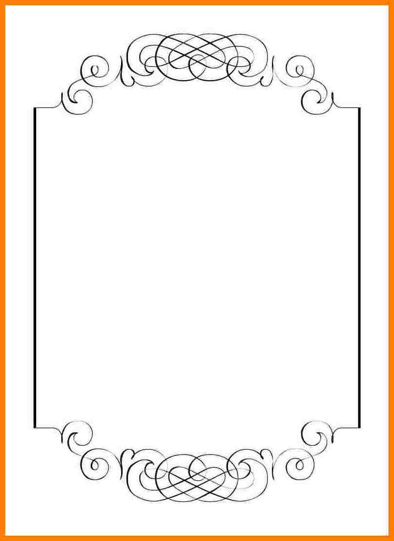 Free Wedding Invitation Printables 5 Blank Wedding Invitation Templates Invoice Example
