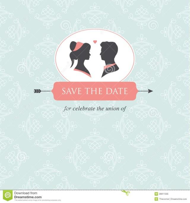 Free Wedding Invitation Printables Wedding Invitation Card Template Stock Illustration Illustration