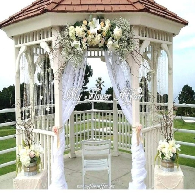 Gazebo Wedding Decorations 20 How To Decorate A Gazebo For A Wedding Nocurveballs