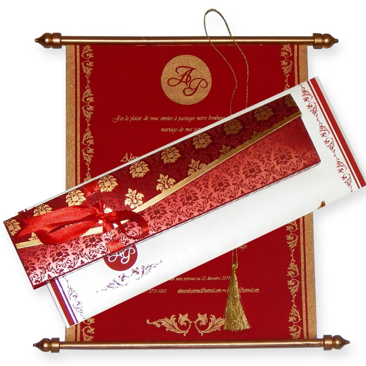 Hindu Wedding Invitations Swc 520