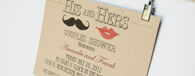 Hipster Wedding Invitations Hipster Wedding Invitations His And Hers Couples Shower