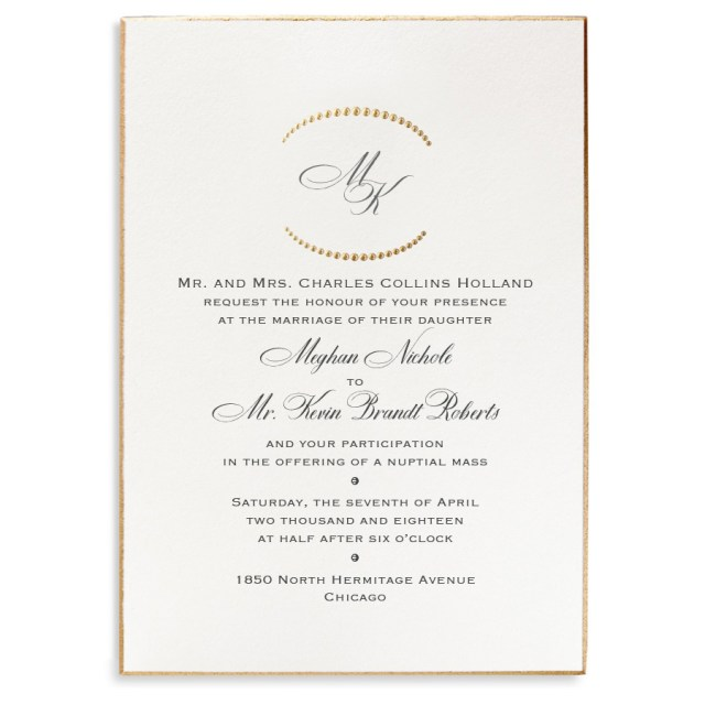 His And Hers Wedding Invitations Bellinvito Updates Formal Wedding Invitation Trends Dos And Donts