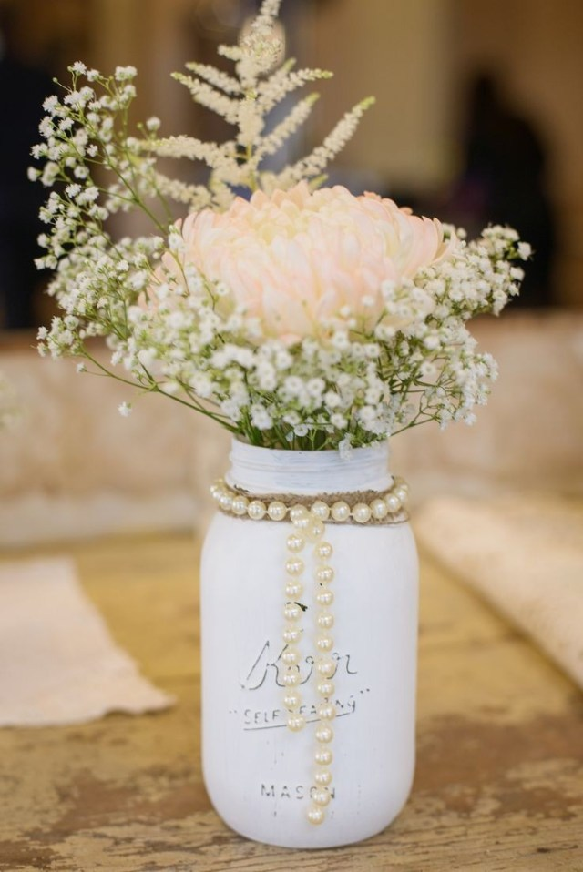 Homemade Decorations For Weddings Incredible Mason Jars With Flowers For Weddings Jar Decorating Ideas