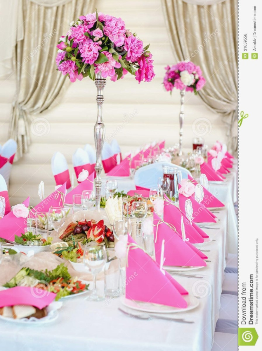 Hot Pink And Silver Wedding Decorations Ideas Hot Pink And Black Wedding Reception Decorations Supplies