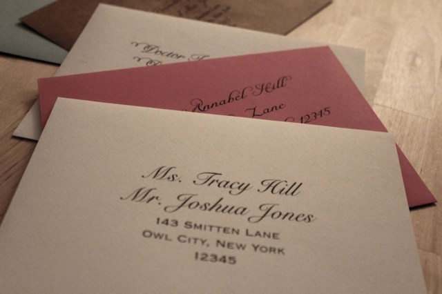 How Do You Address Wedding Invitations How To Address Wedding Invitations 21st Bridal World Wedding
