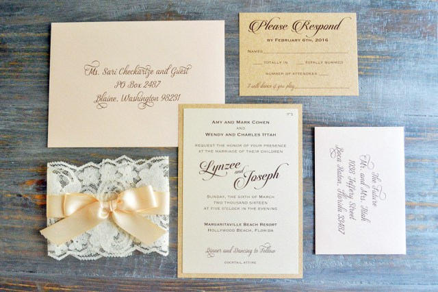 How To Address A Wedding Invitation How To Address Wedding Invitation Envelopes Paper Lace
