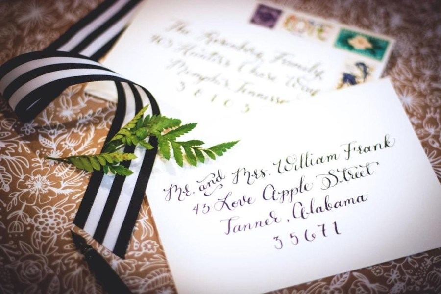 How To Address A Wedding Invitation How To Address Wedding Invitations Unveiled Zola