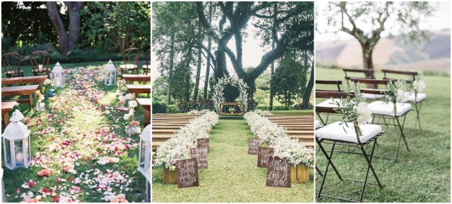 Ideas For Wedding Ceremony Decorations 25 Rustic Outdoor Wedding Ceremony Decorations Ideas