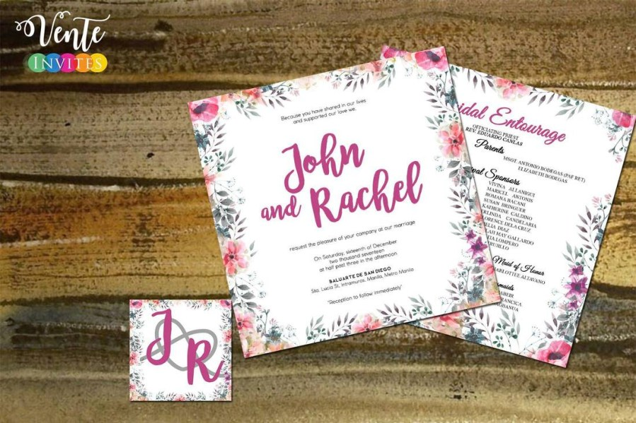Invitations For Weddings Wedding Invitations Wedding Package Philippines Affordable