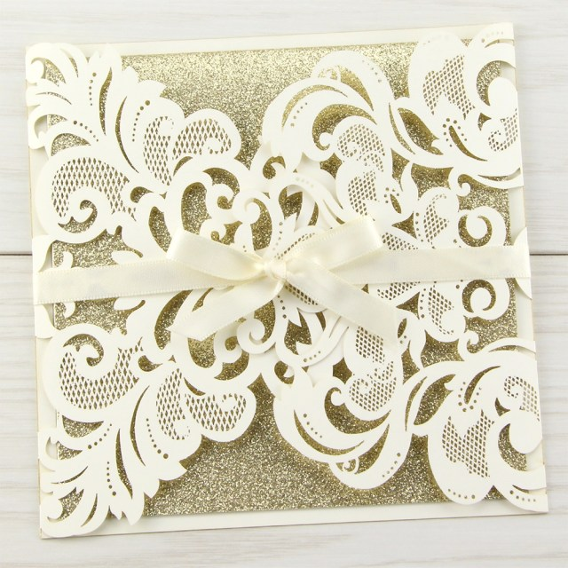 Laser Cut Wedding Invitations Diy 10 Luxury Laser Cut Pocket Invitation Enaqs Touch Ghana
