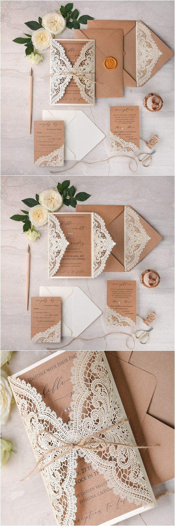 Laser Cut Wedding Invitations Diy We Love Laser Cut Wedding Invitations 4lovepolkadots L